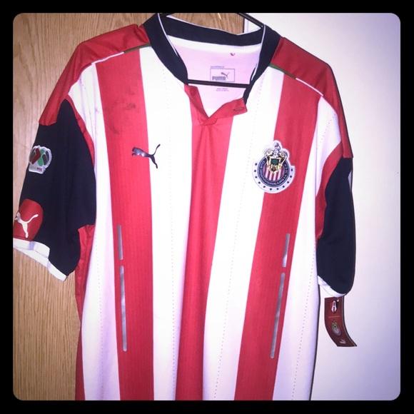 best service 67d19 94f31 Chivas original puma jersey NWT